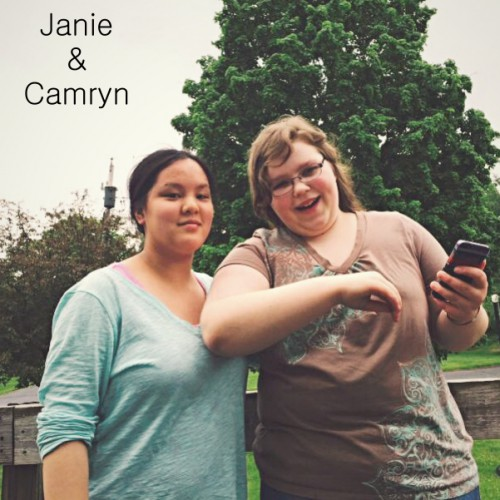 Janie and Camryn